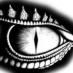 Saphira's Eye Stencil
