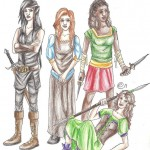 Fan Art Profile: A Salute to the Heroines of the Inheritance Cycle