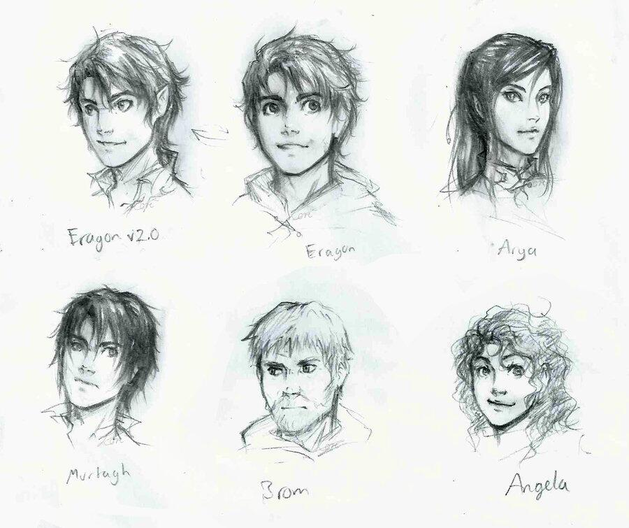 eragon drawings - photo #1