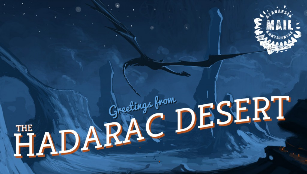 hadarac post card copy