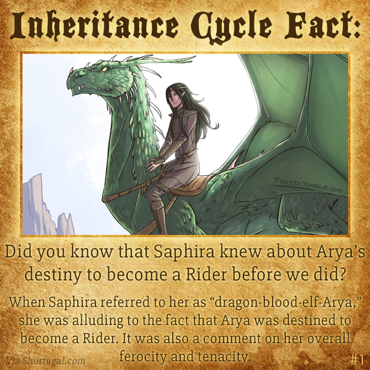 1-Saphira-Knew-Arya-Would-Be-a-Rider