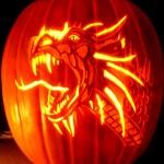 dragon-pumpkin-carving-for-hallowen-2014