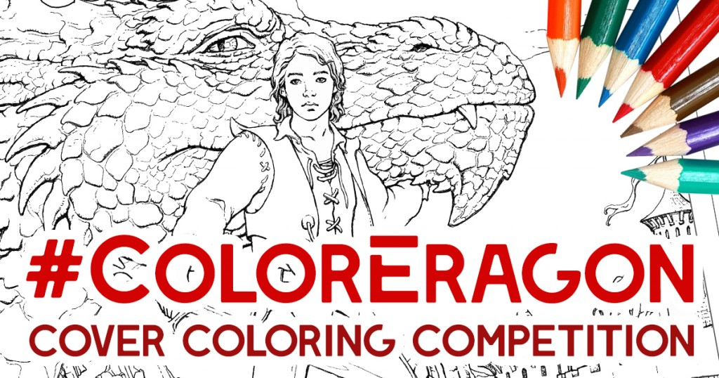 The Official Eragon Coloring Book Is Almost Here New Features Over Forty Illustrations By Award Winning Artist Ciruelo Cabral In Collaboration