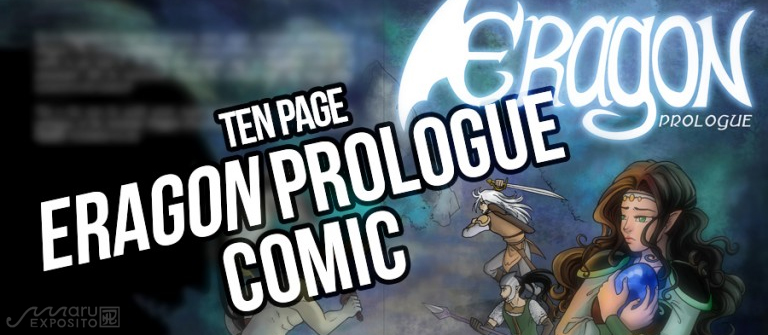 Eragon prologue, 'Shade of Fear,' now a ten page graphic novel/comic!