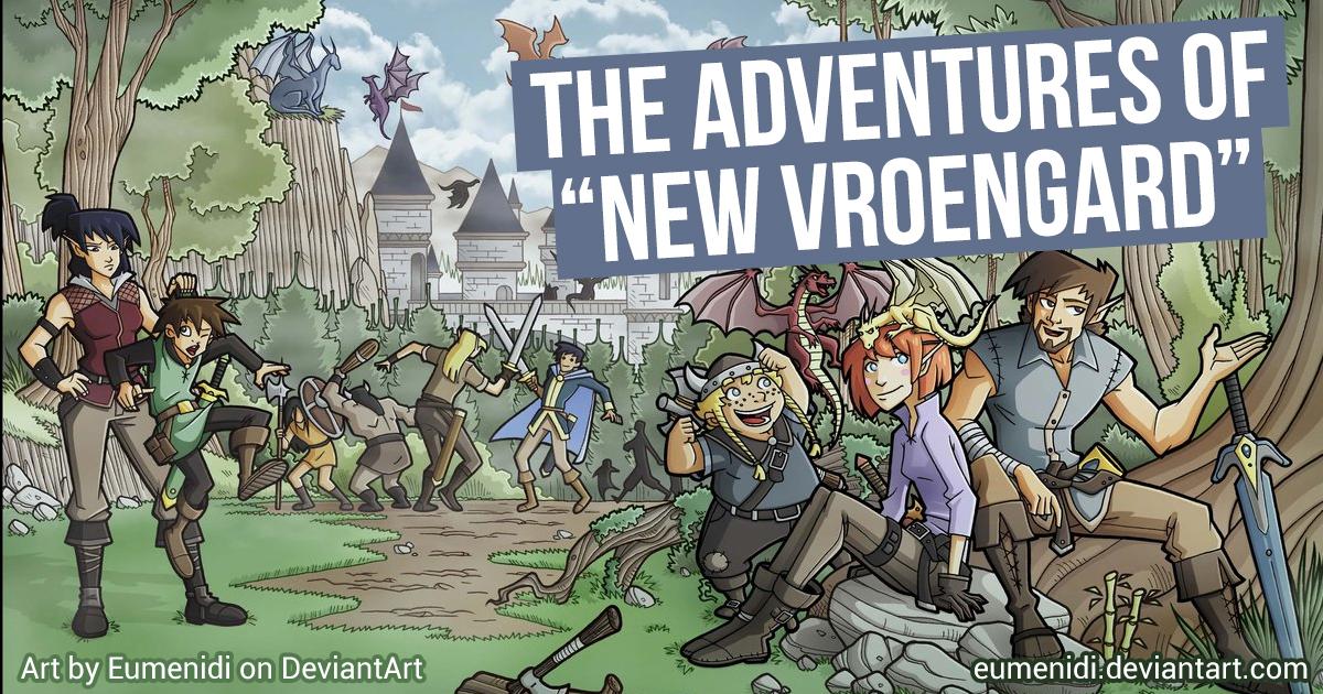 Inheritance Cycle novella idea: 'The Adventures of New Vroengard'